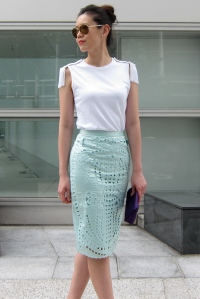 mint skirt